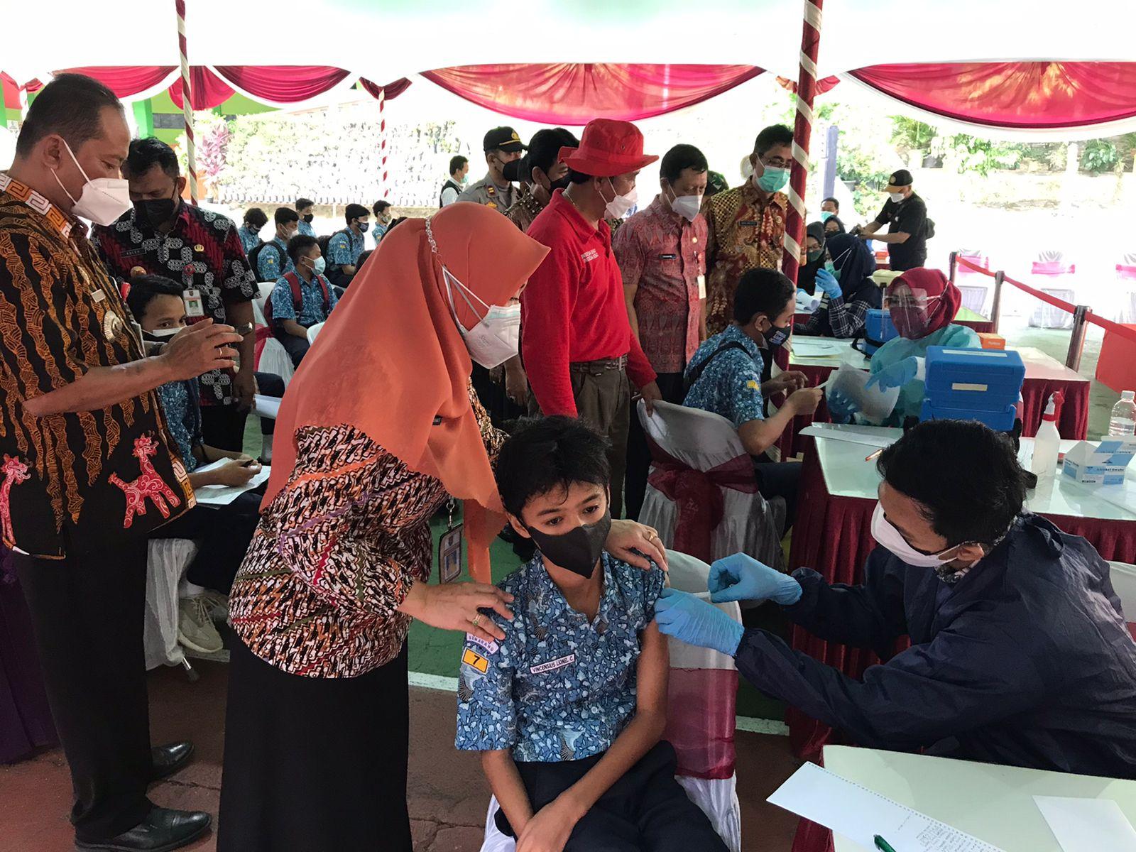Dukung Pembelajaran Tatap Muka di Kota Semarang, DINKES Kebut Vaksinasi Pelajar